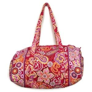 Vera Bradley Bags - Vera Bradley Duffle Bag Medium Travel Tote EUC